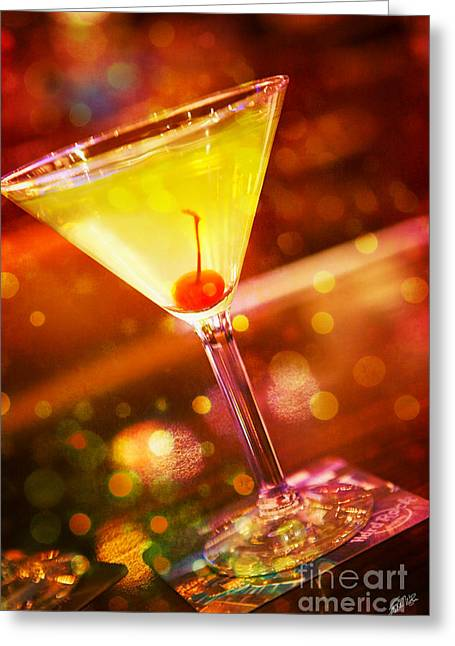 Sweet Martini  Greeting Card