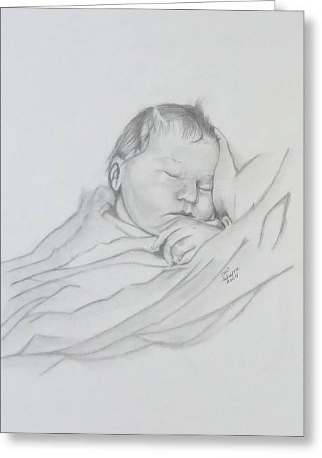 Sweet Sleep 2 Greeting Card