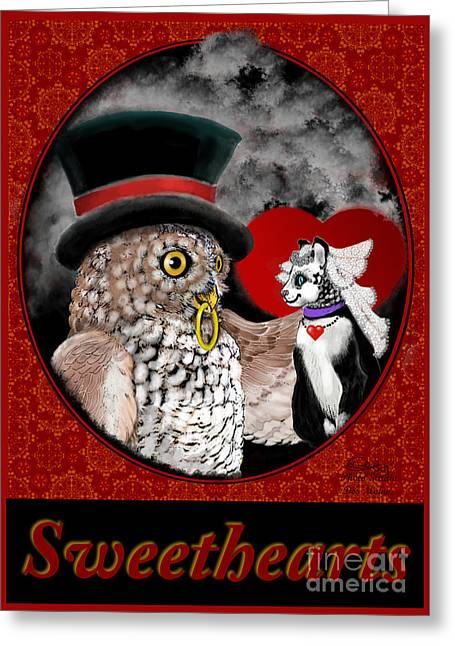 Sweet Sweethearts Greeting Card