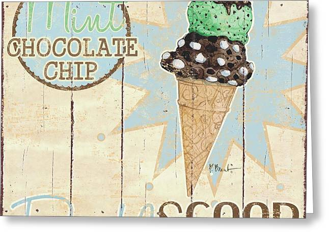 Sweet Treat Signs I Greeting Card by Paul Brent