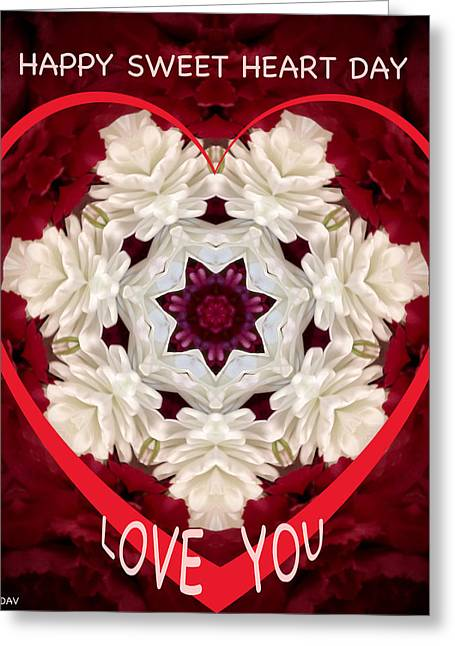 Sweetheart Card Greeting Card by Debra     Vatalaro