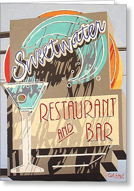 Sweetwater Greeting Card by Paul Guyer