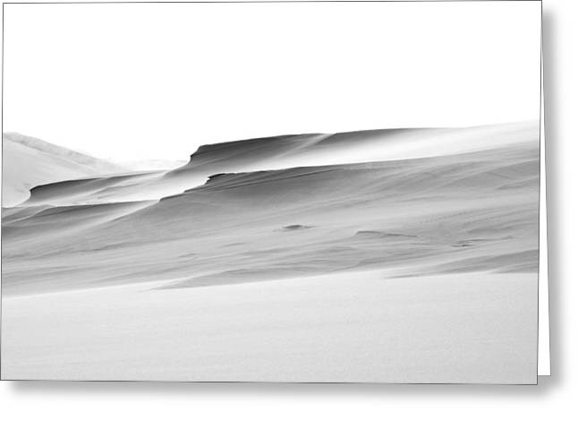 Swiftly Moving Dunes Greeting Card by Adria Trail