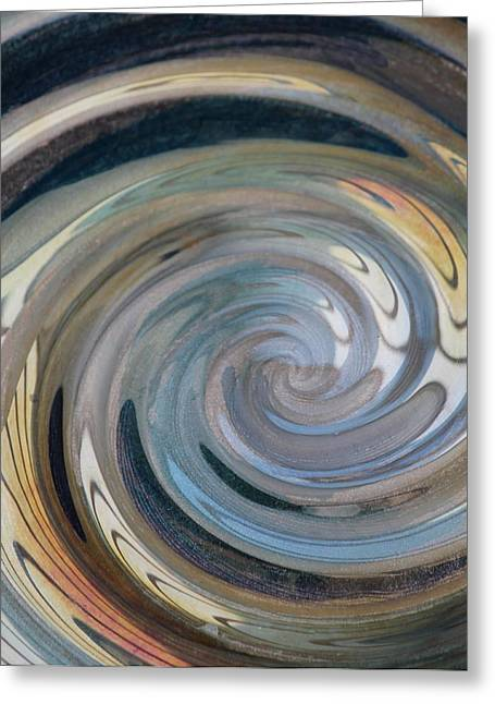 Greeting Card featuring the photograph Swirl by Diane Alexander