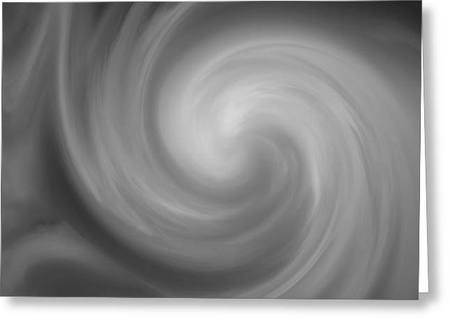 Swirl Wave I Greeting Card by David Gordon
