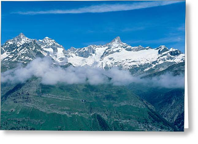 Swiss Alps, Switzerland Greeting Card by Panoramic Images