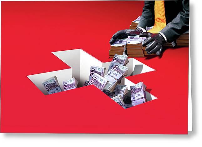 Swiss Banking Greeting Card
