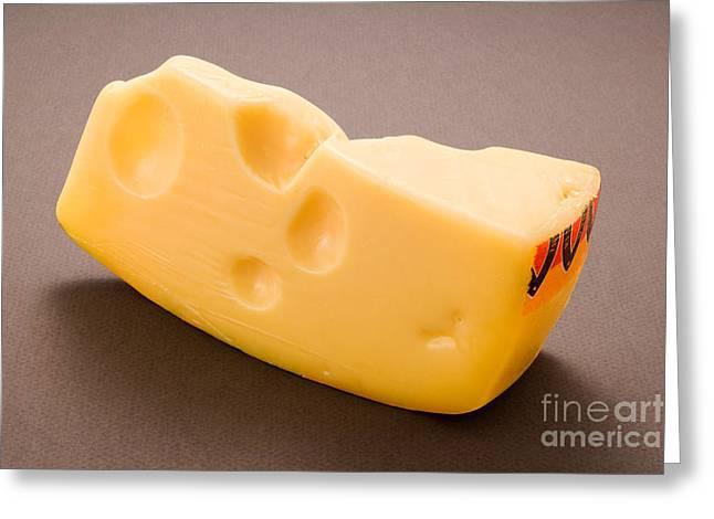 Swiss Cheese Greeting Card