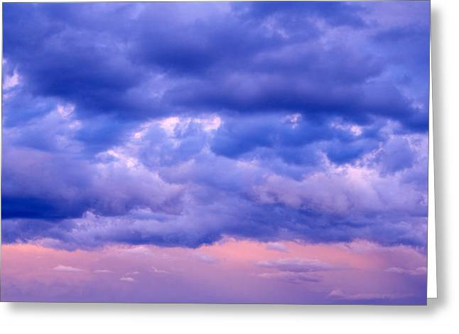 Switzerland, Clouds, Cumulus, Storm Greeting Card by Panoramic Images