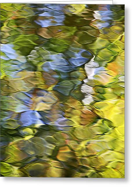 Sycamore Mosaic Greeting Card by Christina Rollo