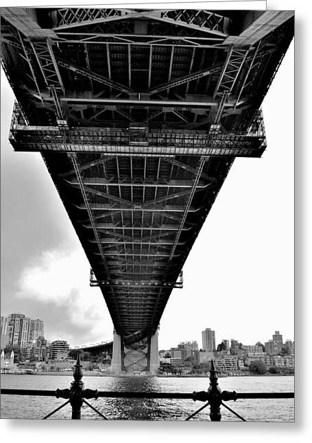 Sydney Bridge 2 - Sydney - Australia Greeting Card