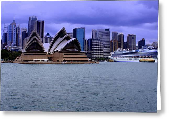 Sydney Greeting Card by DerekTXFactor Creative