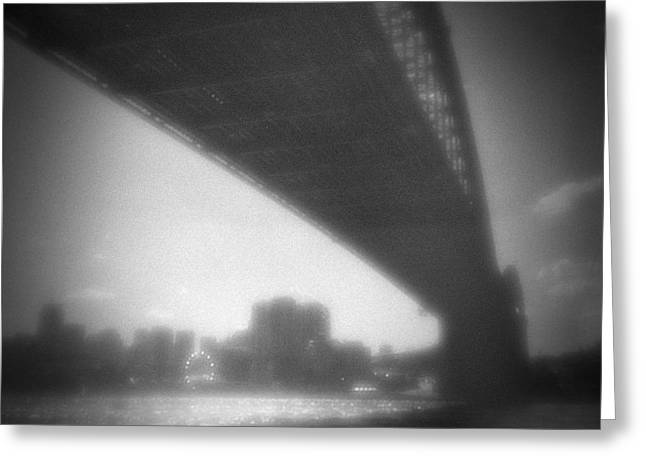 Sydney Harbour Bridge And North Sydney Greeting Card by Colin and Linda McKie