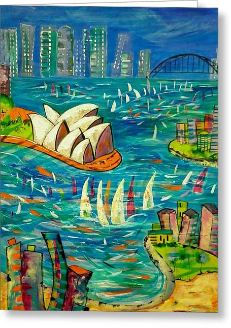 Sydney Harbour Greeting Card