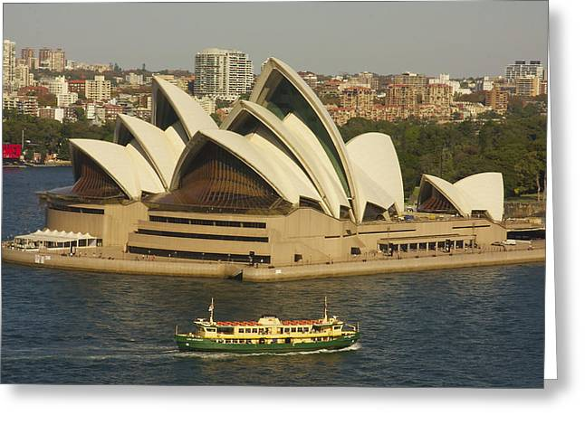 Sydney Harbour Opera House Greeting Card