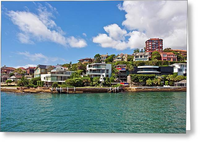 Sydney, New South Wales, Australia Greeting Card by Miva Stock