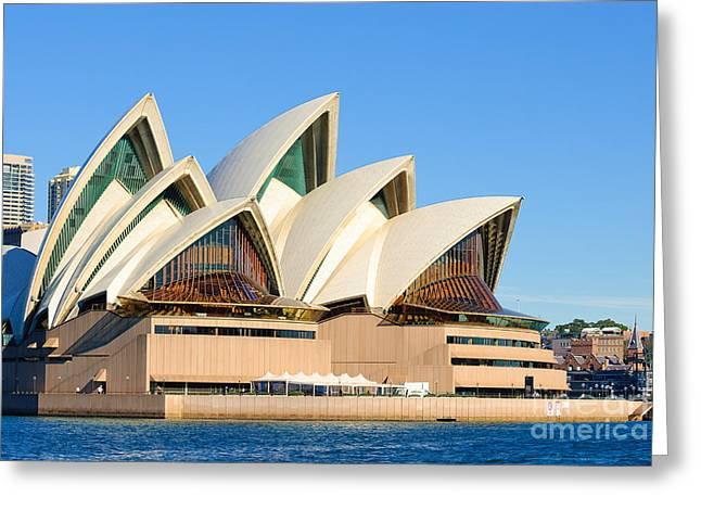 Sydney Opera House And Sydney Harbour Greeting Card