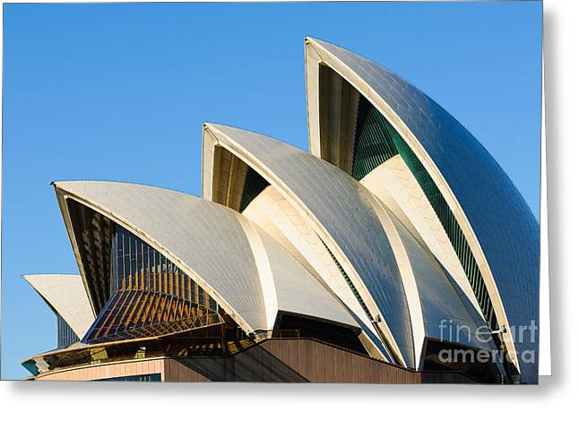 Sydney Opera House Roof Greeting Card
