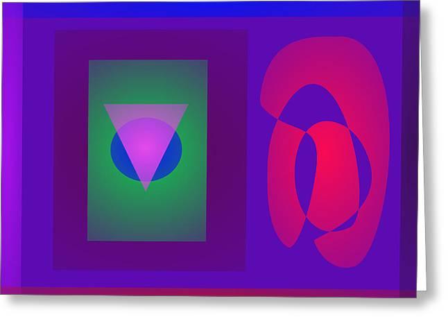 Symbols Greeting Card by Masaaki Kimura