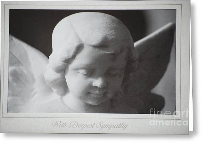 Sympathy      Angel Greeting Card