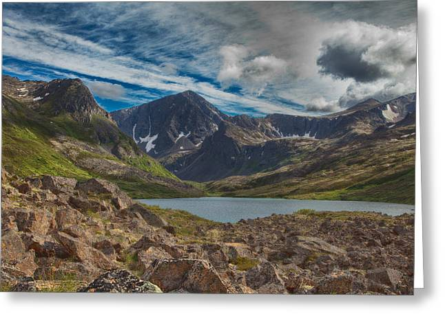 Symphony Lake Greeting Card
