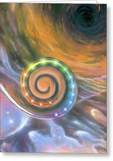 Synaesthesia Greeting Card