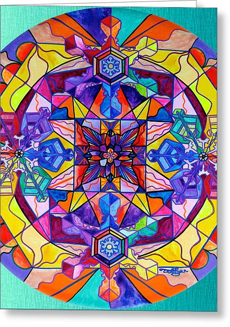 Synchronicity Greeting Card