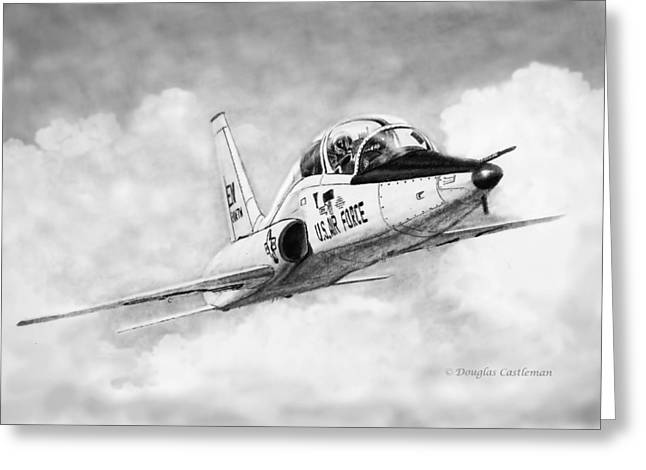 T-38 Talon Greeting Card