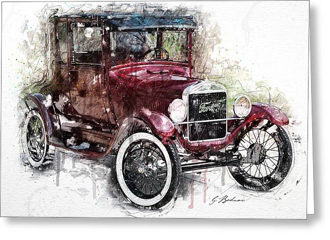 The 1926 Ford Model T Greeting Card