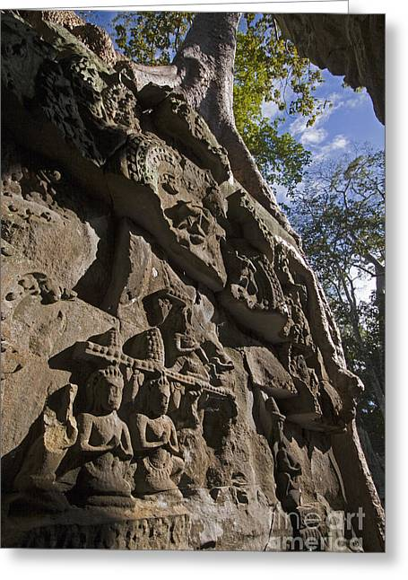 Ta Prohm Angkor Wat Cambodia Greeting Card by Craig Lovell