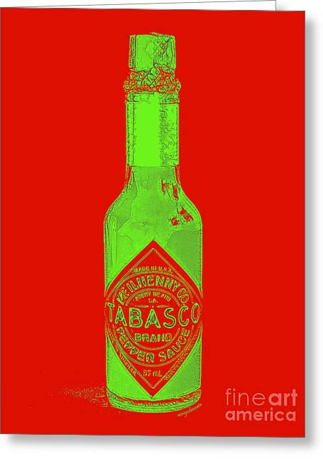 Tabasco Sauce 20130402grd3 Greeting Card