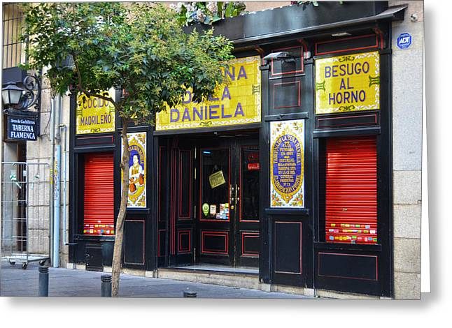 Taberna De La Daniela Greeting Card