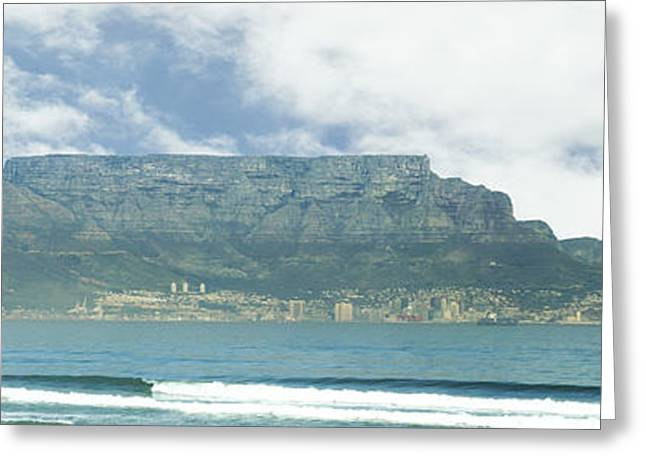 Table Mountain Greeting Card by Tom Hudson