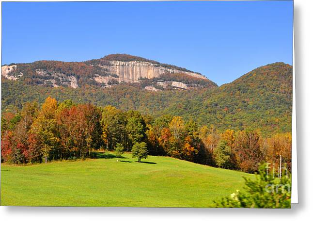 Table Rock In Autumn Greeting Card