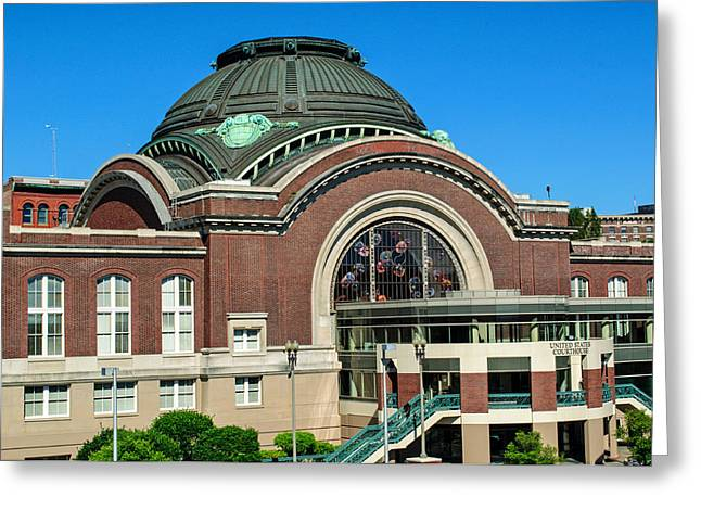 Tacoma Court House At Union Station Greeting Card by Tikvah's Hope