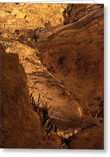 Taconnaz Glacier Greeting Card by Duncan Shaw