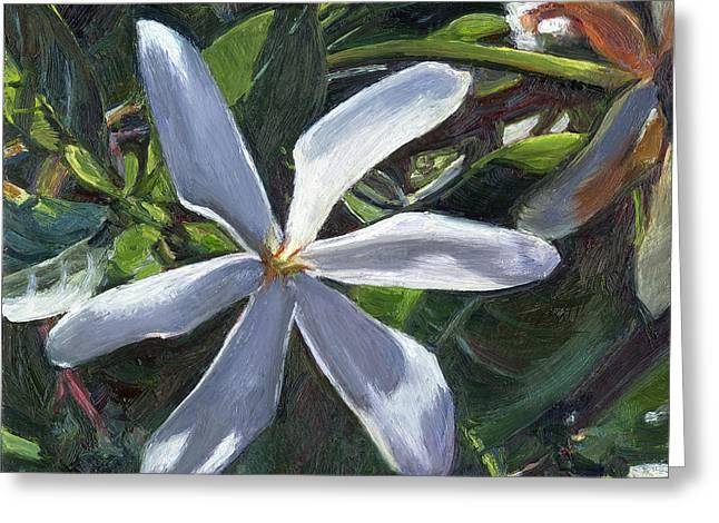 Tahitian Gardenia Greeting Card