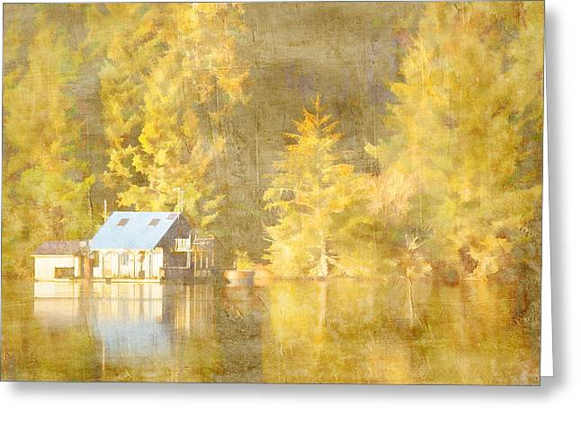 Tahkenitch Lake Oregon Greeting Card