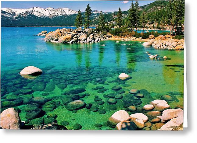 Tahoe Bliss Greeting Card