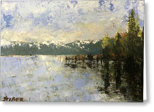 Tahoe Sunrise Greeting Card