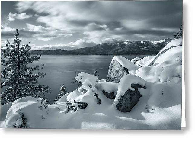 Tahoe Wonderland Greeting Card by Jonathan Nguyen