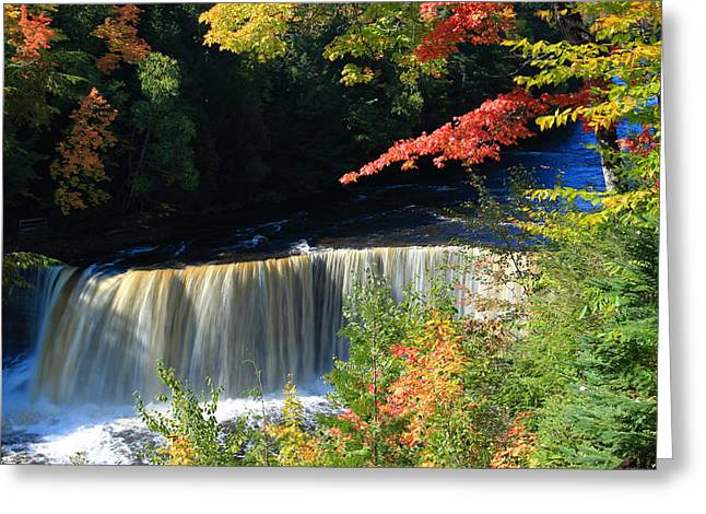 Tahquamenon Falls Autumn Greeting Card