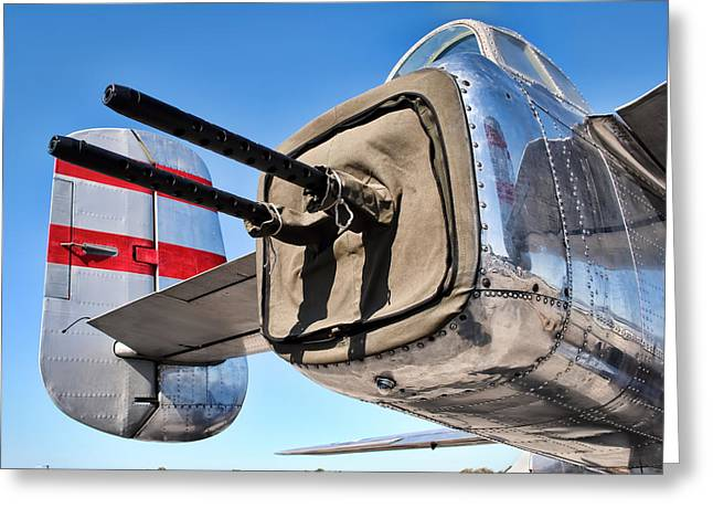 Tail Gunner Greeting Card