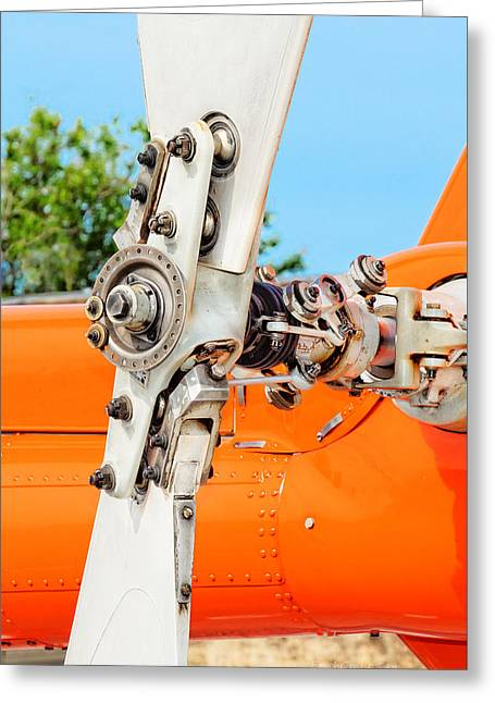 Tail Rotor Greeting Card