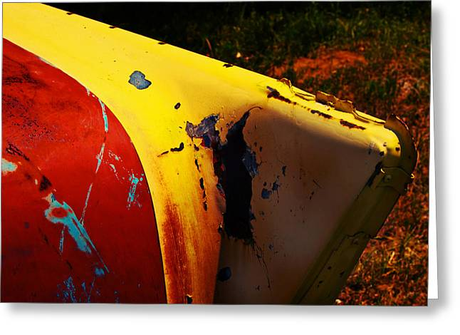 Tailfin Colors Greeting Card by Toni Hopper