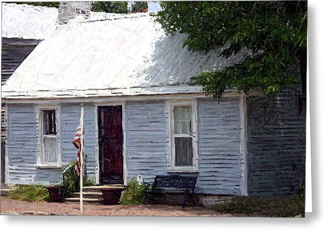 Tailor Shop - Perryville Ky Greeting Card by Thia Stover