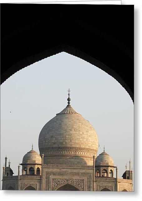 Taj And Arch Greeting Card