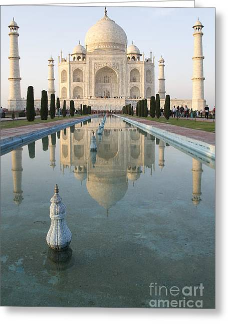 Taj Greeting Card