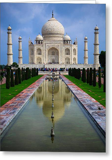 Taj Mahal - India Greeting Card