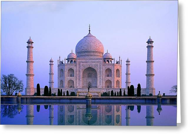 Taj Mahal, India Greeting Card by Indian School